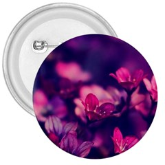 Blurry Flowers 3  Buttons by Brittlevirginclothing