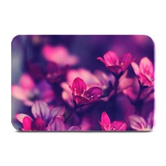Blurry Flowers Plate Mats by Brittlevirginclothing