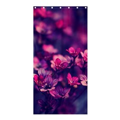 Blurry Flowers Shower Curtain 36  X 72  (stall)  by Brittlevirginclothing