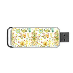 Vintage Pastel Portable Usb Flash (one Side) by Brittlevirginclothing