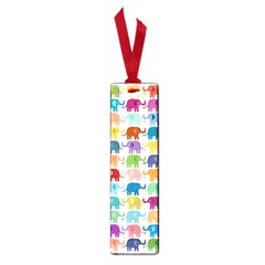Cute Colorful Elephants Small Book Marks by Brittlevirginclothing