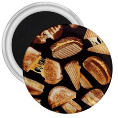 Delicious Snacks 3  Magnets by Brittlevirginclothing
