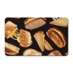 Delicious Snacks Magnet (rectangular) by Brittlevirginclothing