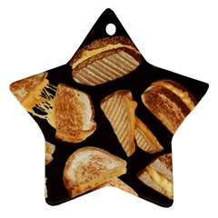 Delicious Snacks Star Ornament (two Sides) by Brittlevirginclothing