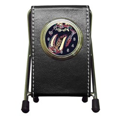 The Rolling Stones  Pen Holder Desk Clocks by Brittlevirginclothing
