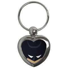Batman Key Chains (heart)  by Brittlevirginclothing