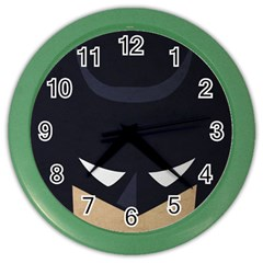 Batman Color Wall Clocks by Brittlevirginclothing