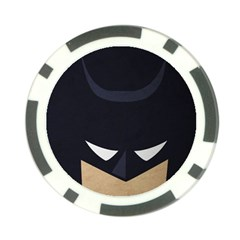 Batman Poker Chip Card Guard by Brittlevirginclothing