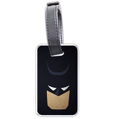 Batman Luggage Tags (one Side)  by Brittlevirginclothing