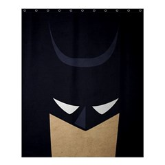 Batman Shower Curtain 60  X 72  (medium)  by Brittlevirginclothing