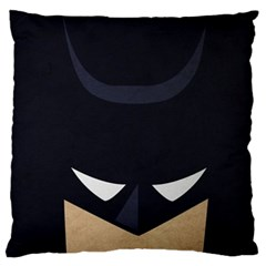 Batman Large Flano Cushion Case (one Side) by Brittlevirginclothing