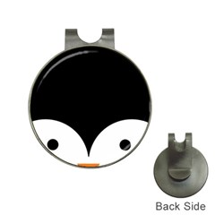 Cute Pinguin Hat Clips With Golf Markers by Brittlevirginclothing