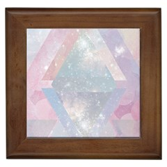 Pastel Crystal Framed Tiles by Brittlevirginclothing
