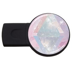 Pastel Crystal Usb Flash Drive Round (2 Gb) by Brittlevirginclothing