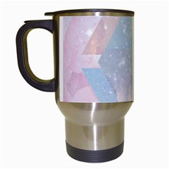 Pastel Crystal Travel Mugs (white) by Brittlevirginclothing