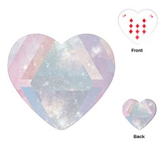 Pastel Crystal Playing Cards (heart)  by Brittlevirginclothing