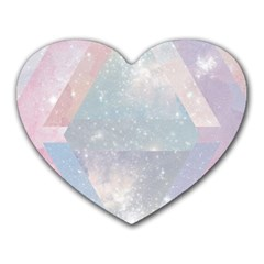 Pastel Crystal Heart Mousepads by Brittlevirginclothing
