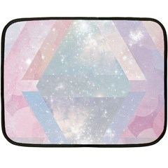 Pastel Crystal Fleece Blanket (mini) by Brittlevirginclothing