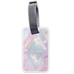 Pastel Crystal Luggage Tags (one Side)  by Brittlevirginclothing