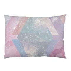 Pastel Crystal Pillow Case (two Sides) by Brittlevirginclothing