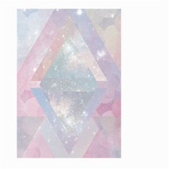 Pastel Crystal Large Garden Flag (two Sides) by Brittlevirginclothing