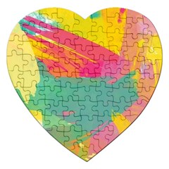 Paint Brush Jigsaw Puzzle (heart) by Brittlevirginclothing