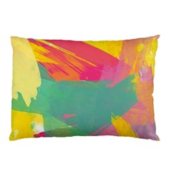 Paint Brush Pillow Case by Brittlevirginclothing