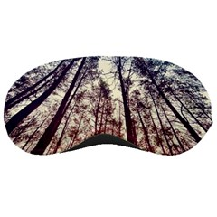 Up View Forest Sleeping Masks by Brittlevirginclothing