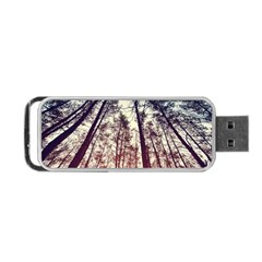Up View Forest Portable Usb Flash (two Sides) by Brittlevirginclothing
