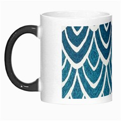 Blue Fish Scale Morph Mugs by Brittlevirginclothing