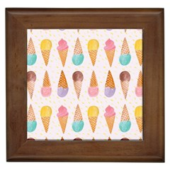 Cute Ice Cream Framed Tiles by Brittlevirginclothing