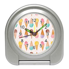 Cute Ice Cream Travel Alarm Clocks by Brittlevirginclothing
