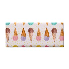 Cute Ice Cream Hand Towel by Brittlevirginclothing