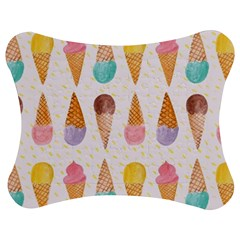 Cute Ice Cream Jigsaw Puzzle Photo Stand (bow) by Brittlevirginclothing