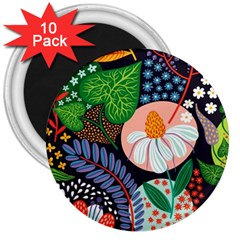 Japanese Inspired 3  Magnets (10 Pack)  by Brittlevirginclothing