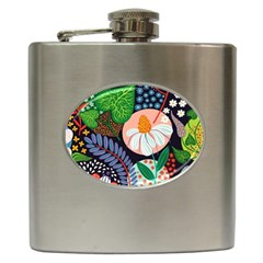 Japanese Inspired Hip Flask (6 Oz) by Brittlevirginclothing