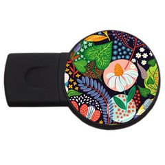 Japanese Inspired Usb Flash Drive Round (2 Gb) by Brittlevirginclothing