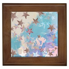 Pastel Stars Framed Tiles by Brittlevirginclothing