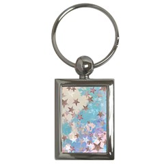 Pastel Stars Key Chains (rectangle)  by Brittlevirginclothing