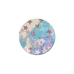 Pastel Stars Golf Ball Marker (4 Pack) by Brittlevirginclothing