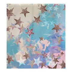Pastel Stars Shower Curtain 66  X 72  (large)  by Brittlevirginclothing