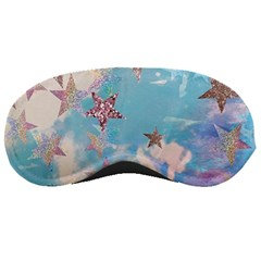 Pastel Stars Sleeping Masks by Brittlevirginclothing
