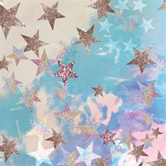 Pastel Stars Magic Photo Cubes by Brittlevirginclothing