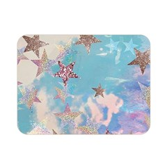 Pastel Stars Double Sided Flano Blanket (mini)  by Brittlevirginclothing