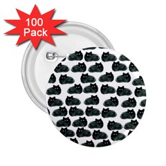 Black Cat 2 25  Buttons (100 Pack)  by Brittlevirginclothing