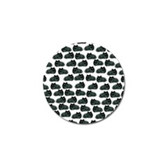 Black Cat Golf Ball Marker (10 Pack) by Brittlevirginclothing