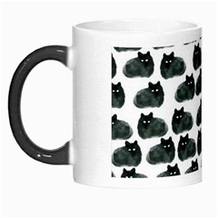 Black Cat Morph Mugs by Brittlevirginclothing