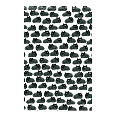 Black Cat Shower Curtain 48  X 72  (small)  by Brittlevirginclothing