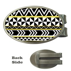 Black Bohemian Money Clips (oval)  by Brittlevirginclothing