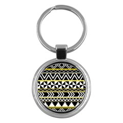 Black Bohemian Key Chains (round)  by Brittlevirginclothing